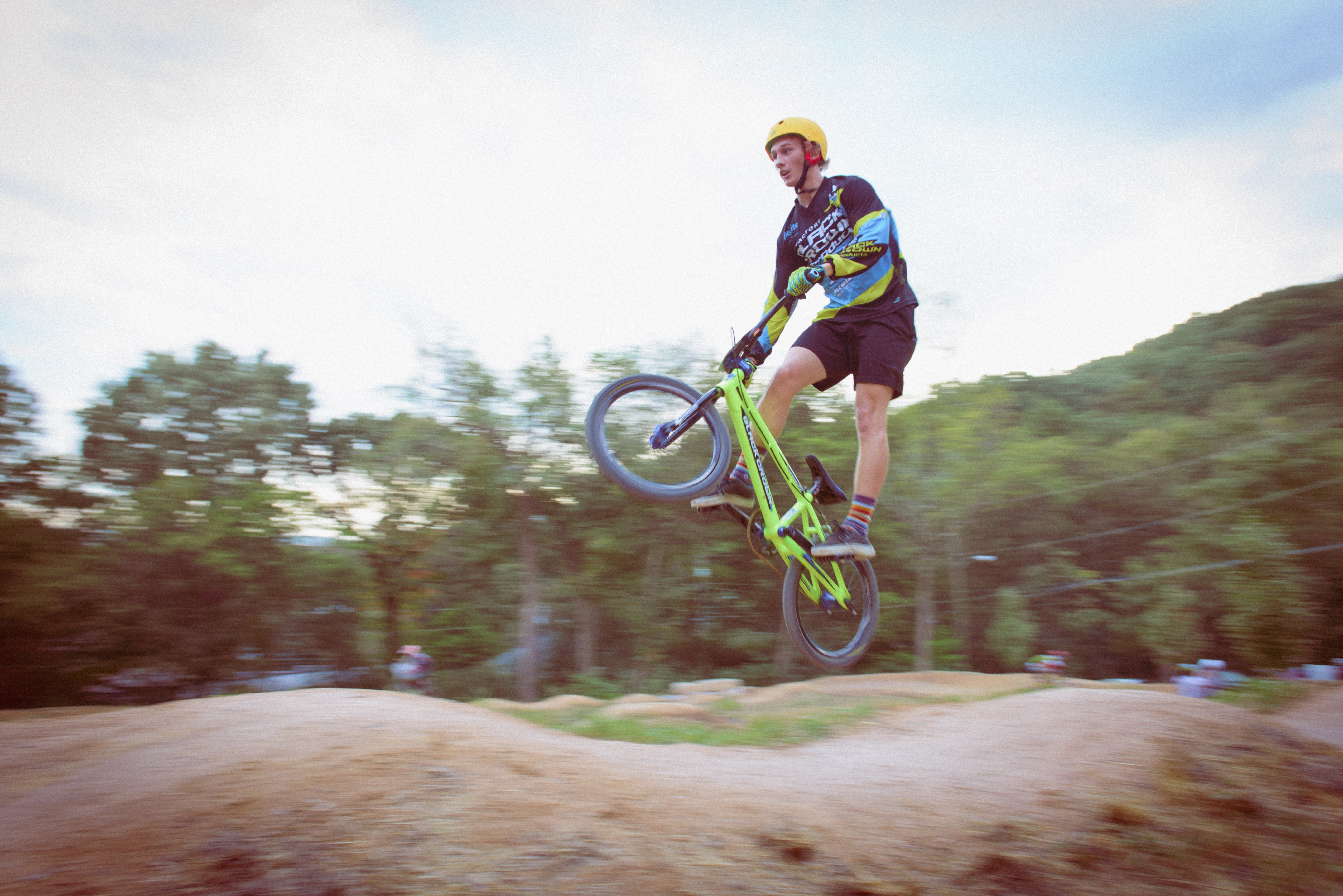 Pump Track Bicycle Athlete