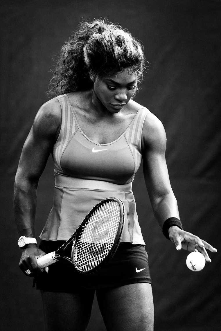 Serena Williams photographed by Nashville photographer Jason Myers