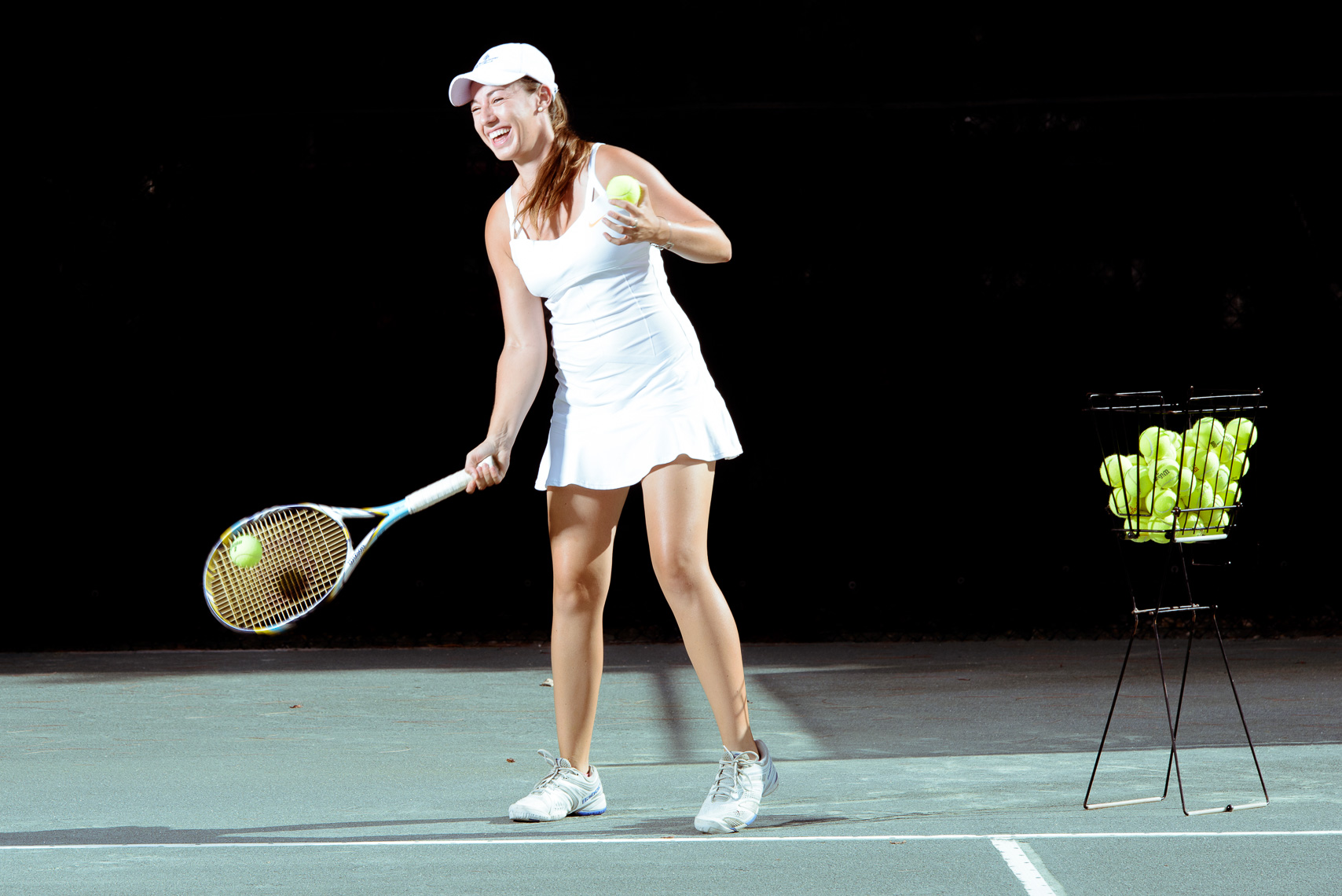 Female Tennis Professional